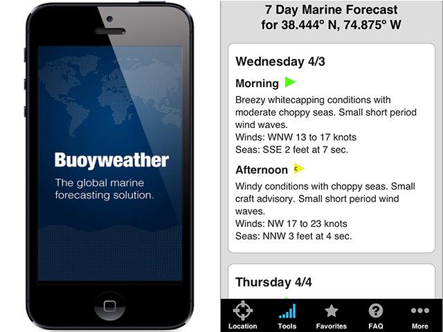 Buoyweather Launches New App   FISHTRACK COM