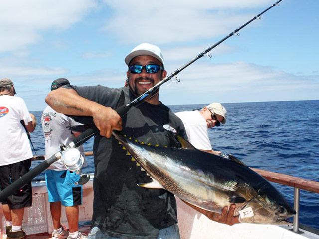 Tuna fishing gear for Bluefin tuna fishing