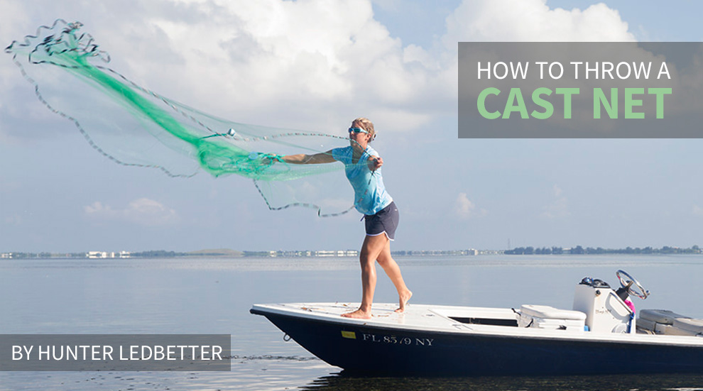 How to throw a cast net for fishing bait fishtrack com for Throw nets for fishing