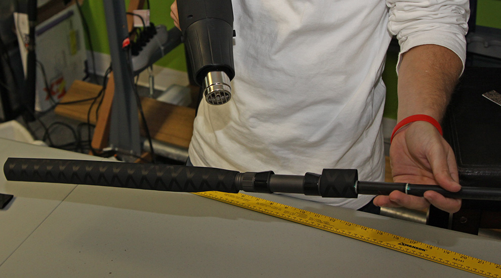 How to Replace a Rod Grip and Reel Seat on a Fishing Rod ...