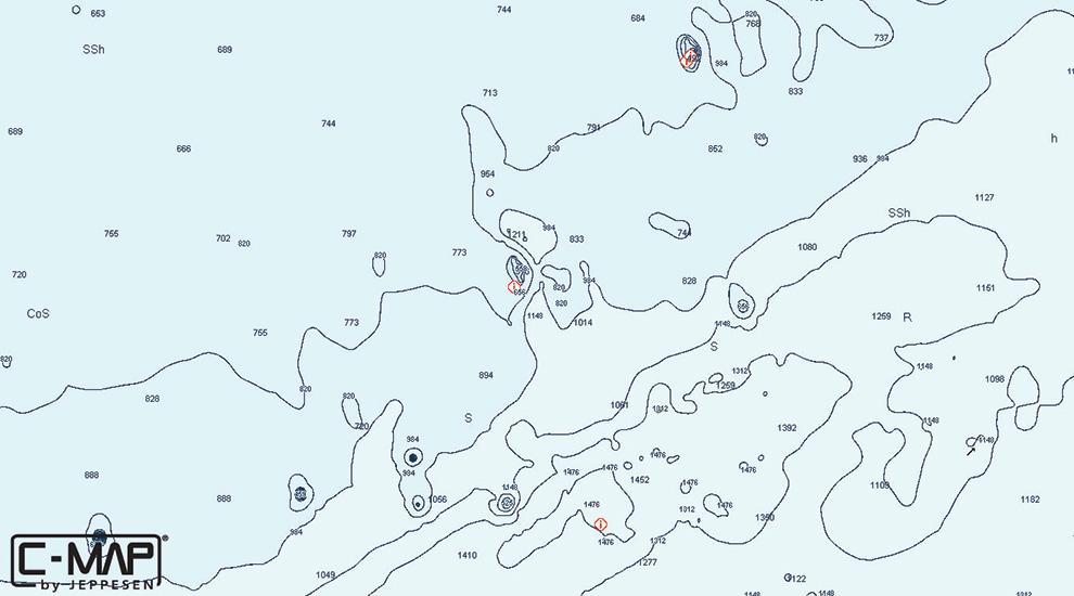 C Map Hot Spot Upper Florida Keys Fishtrack