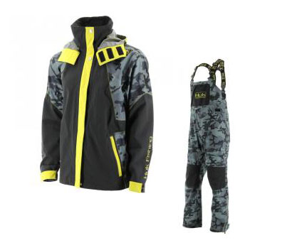 huk launches new foul weather gear fishtrack com