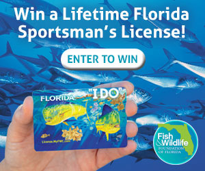 Win a fl lifetime fishing license fishtrack com for Louisiana lifetime fishing license