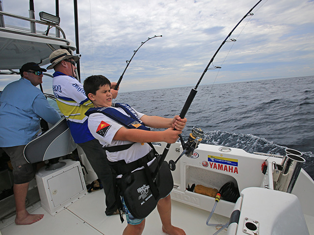 Hook up fishing competition