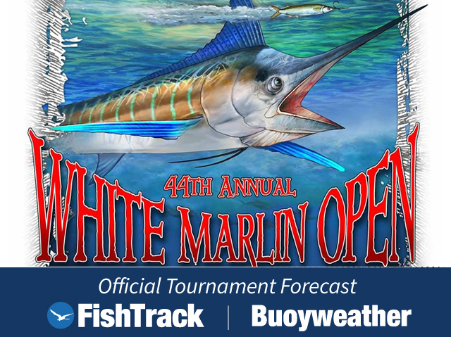 White Marlin Open Official Forecast Fishtrack Com