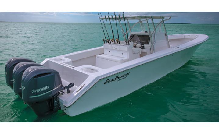 Sea Hunter Boats >> Sea Hunter Tournament 40ft Center Console Boat Guide Fishtrack Com