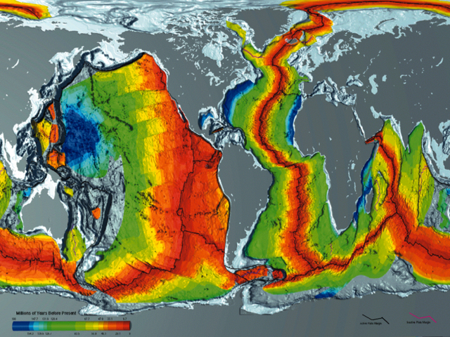 OCEAN ODDITIES SOUND AT THE BOTTOM OF THE SEA SURFLINECOM - Map showing ocean depths