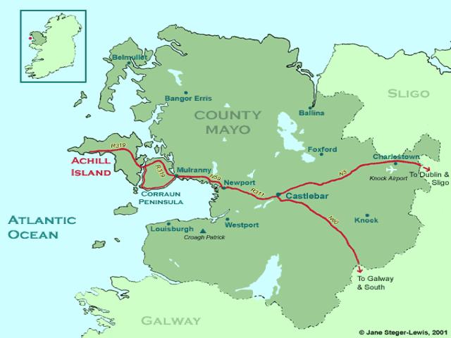 Map Of Ireland Headlands.Ocean Oddities Long Lost Irish Beach Comes Back Surfline Com