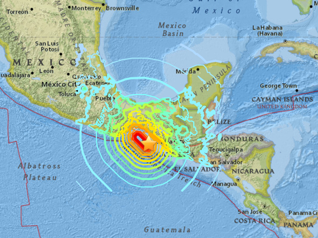 Breaking: Deadly Earthquake With Tsunami Hits Mexico ...