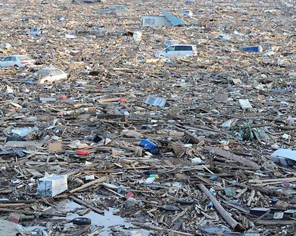 Columbia Debris Field Figure 4 Debris Field Along