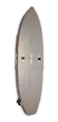 Triple Shortboard Surfcase