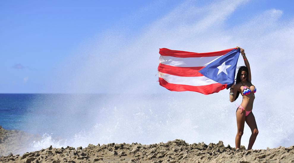 Kiara Faubert Showing Off A Little Puerto Rican Pride Photo AJ Neste