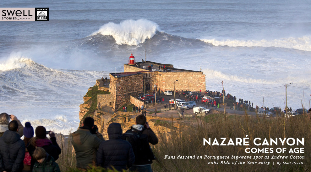 NAZARE CANYON COMES OF AGE | SURFLINE.COM  |Nazare Canyon