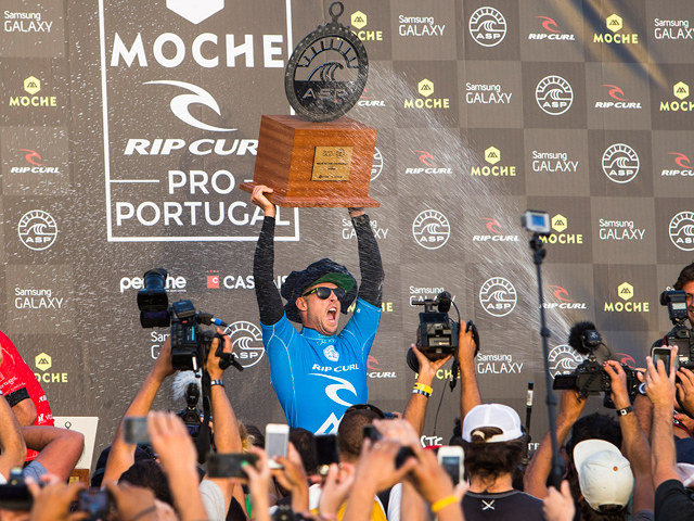0086e4937c5a4 MICK FANNING WINS MOCHE RIP CURL PRO PORTUGAL  FIRST LOOK ...