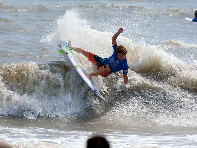 """I have a great board that works really well in these conditions,"" said Vans Junior Pro runner up Griffin Colapinto, ""and the waves were much better than I"