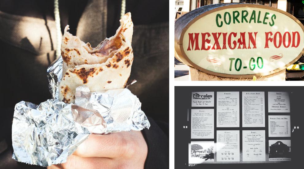 Corrales Mexican Food Santa Cruz
