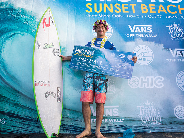 ae5fff25b5 Mason Ho Wins His Second HIC Pro at Sunset Beach