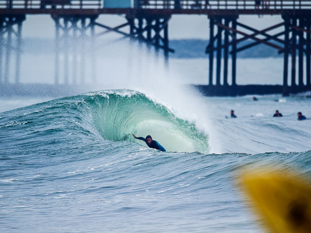 Billy Hopkins Wins Morgan S Wave Of The Day Expression Session Seal Beach